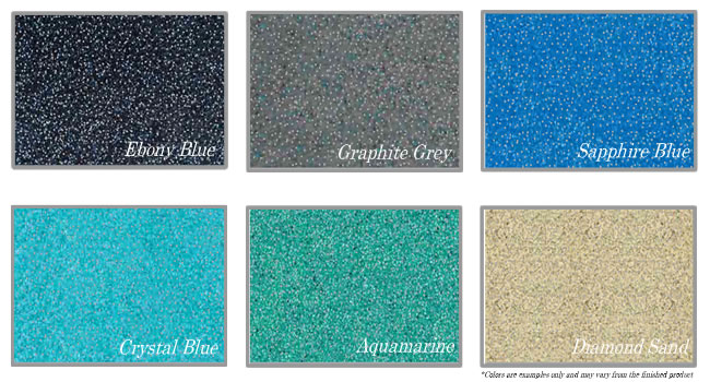 Fiberglass Pool Colours
